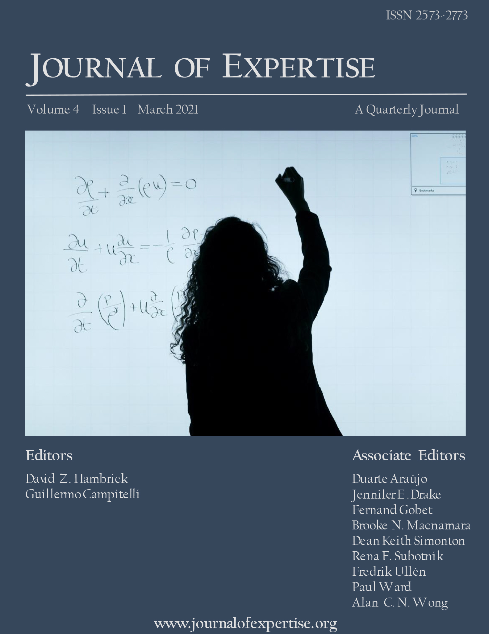 Journal of Expertise Volume 4 Issue 1